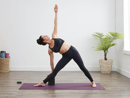 Asana Spotlight: Trikonasana or Triangle Pose