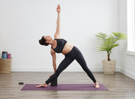 Asana Spotlight: Trikonasanaor Triangle Pose