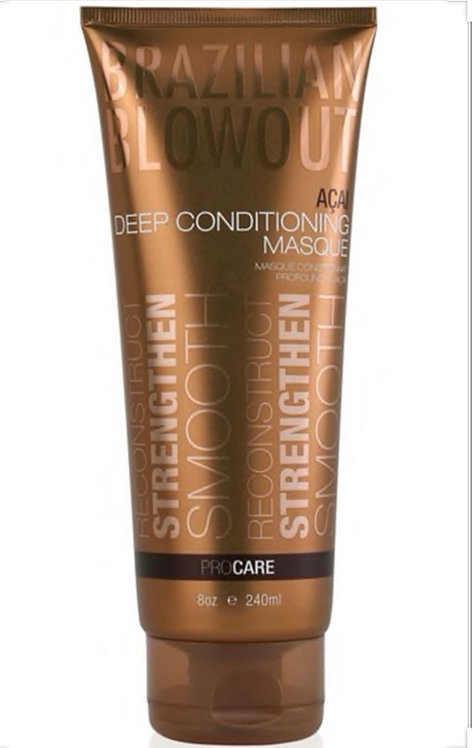 Brazilian Blowout Deep Conditioning Masque