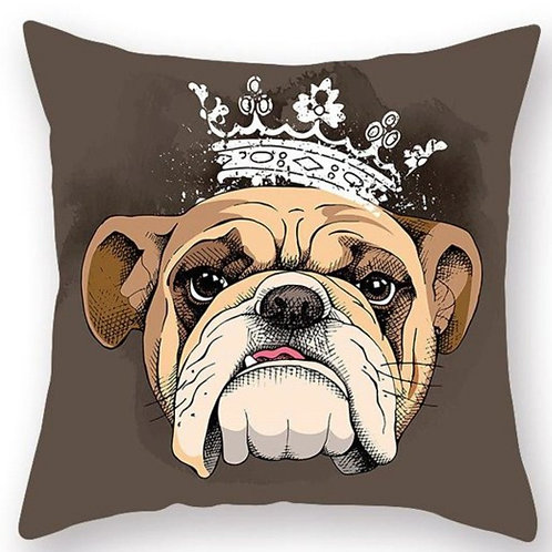 Bull Dog Pillow Case