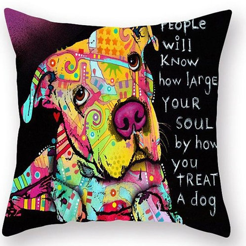How Large Your Soul Pillow Case