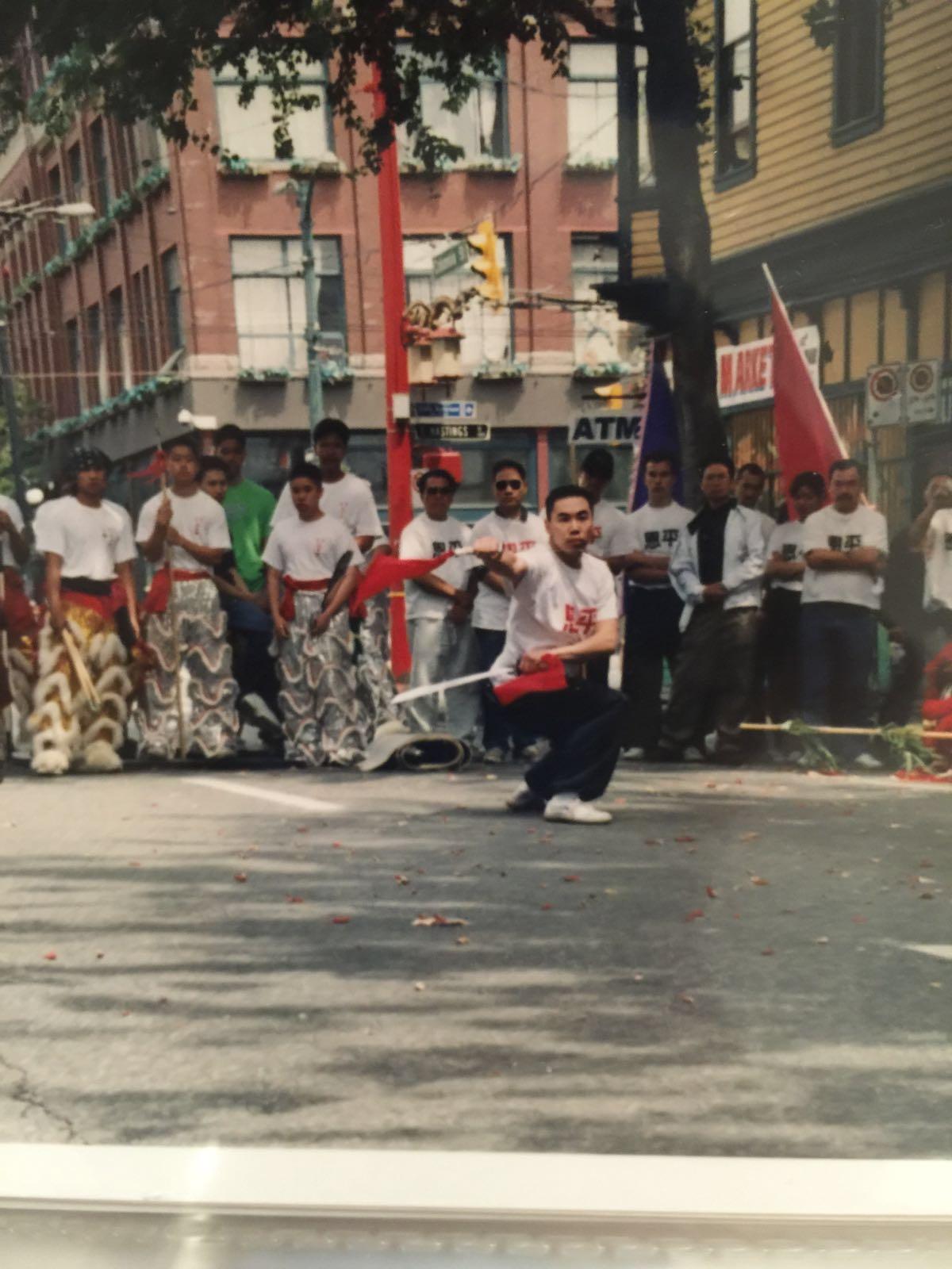 Bak Mei Kung Fu Chinatown Performanc