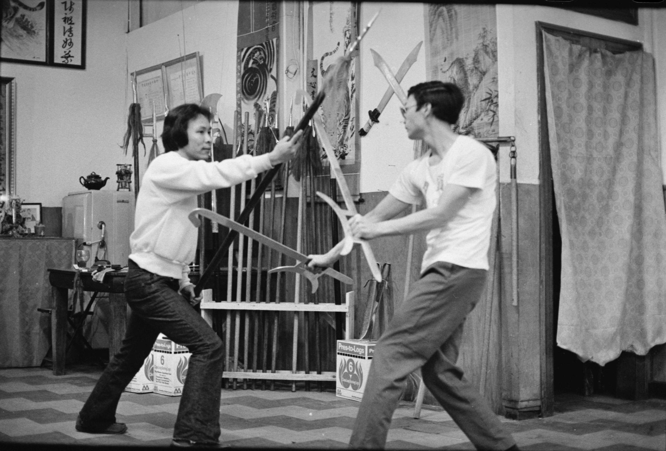 Bak Mei Kung Fu Weapons