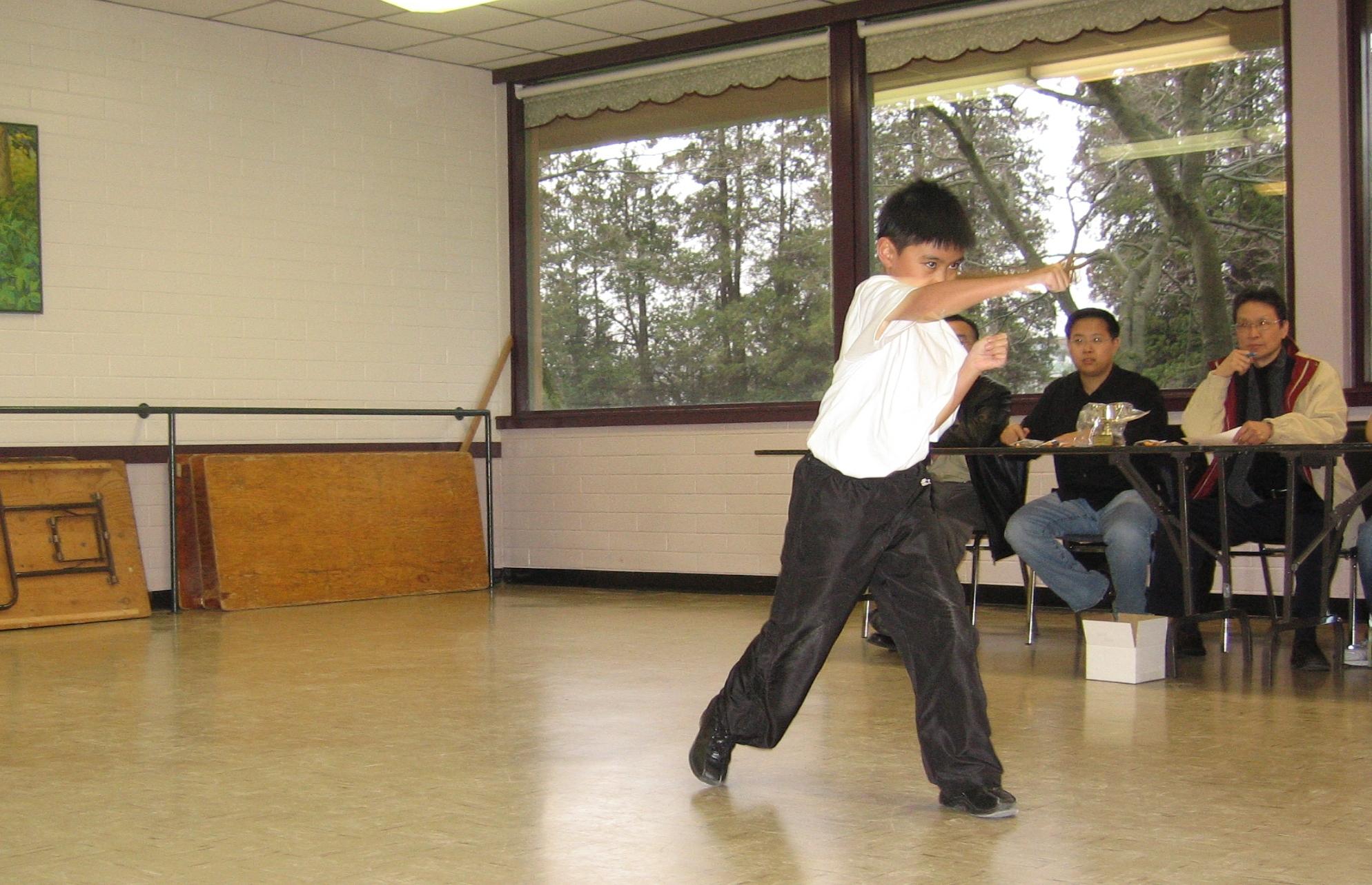 Bak Mei Kung Fu Practice