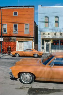 """Orange Cars"" by George Herzog"