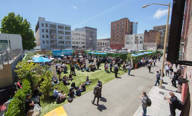 Build An Event Campus with The Village + The Warfield; Including outdoor space