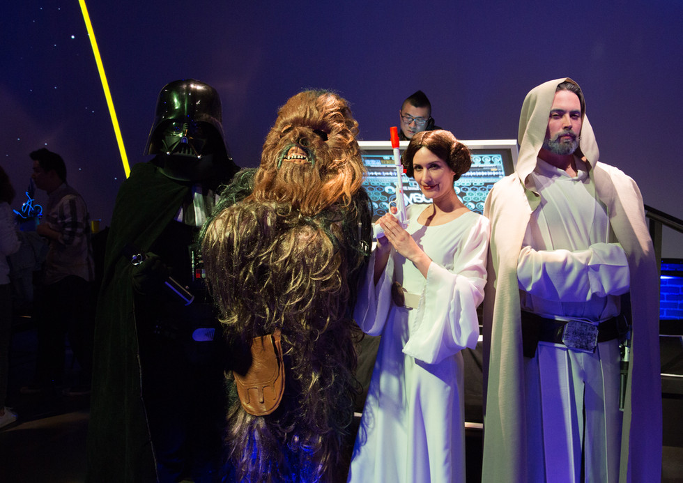 Star Wars Themed Reception with EventWright