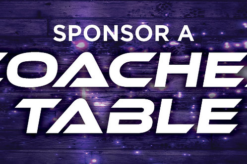 Hill Country Houndin' Coaches Table