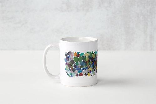 White Jumble Mug