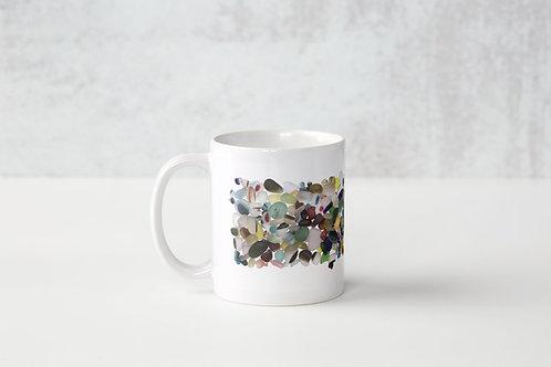 White Muddle Mug