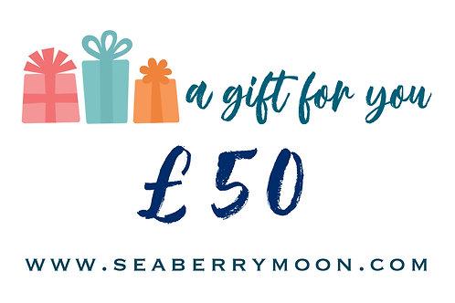 £50 Seaberry Voucher