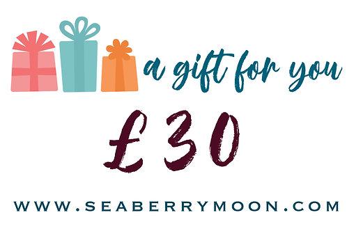 £30 Seaberry Voucher