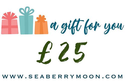 £25 Seaberry Voucher