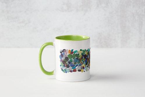 Green Jumble Mug
