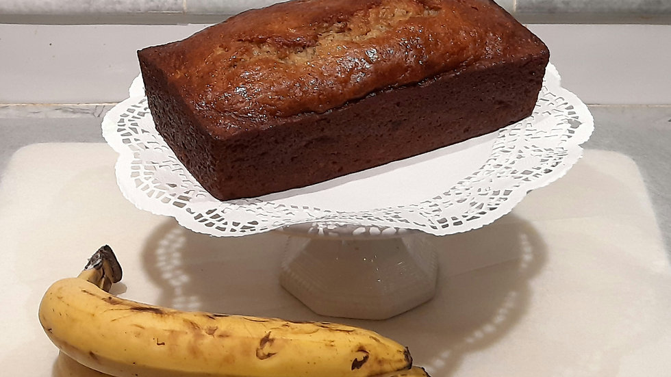 Full sized banana bread (chocolate chip or plain)