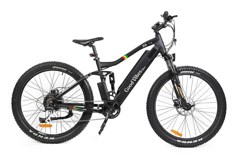 Good Vibes Full Suspension Mountain Bike