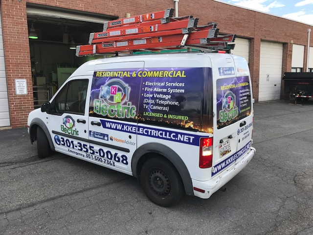 Partial wrap | Signs in Rockville