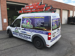 Partial wrap   Signs in Rockville