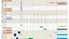 Calendrier général des compétitions régionales 2021-2022