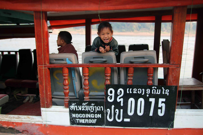 First Mate on the Mekong