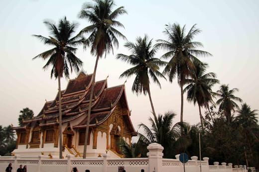 Royal Palace at Dawn