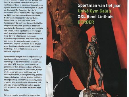 Januari 2010 Sportman van het Jaar