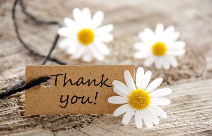 Drücken Sie Ihren Kunden, Mitarbeitern und Geschäftspartnern Ihre Wertschätzung gegenüber aus. Sagen Sie einfach Danke mit Produkten von Wetzel. Gerade jetzt.