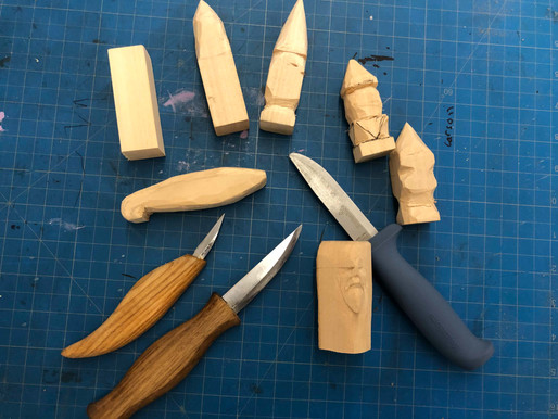 Inside the Maker Space: Meeting for Whittling