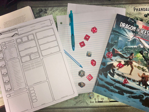 New Club at Friends: Dungeons and Dragons