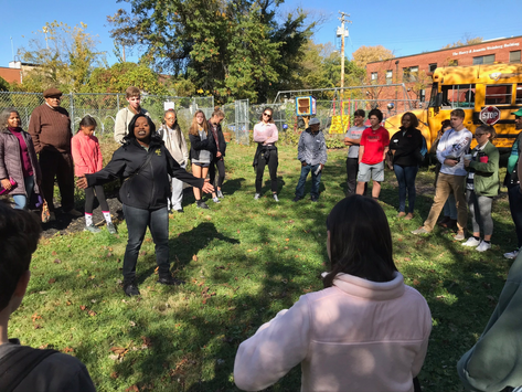 Students Captivated by Ecojustice Opportunities in Baltimore