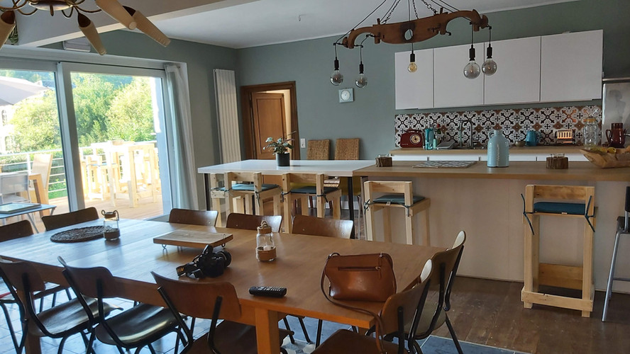la cuisine /salle à manger