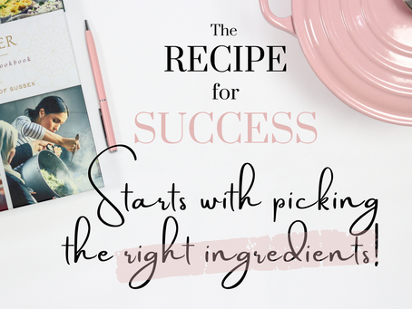 The Recipe For Getting The Career You Want