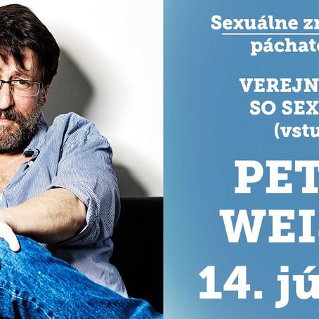 Veřejná diskuze se sexuologem Petrem Weissem
