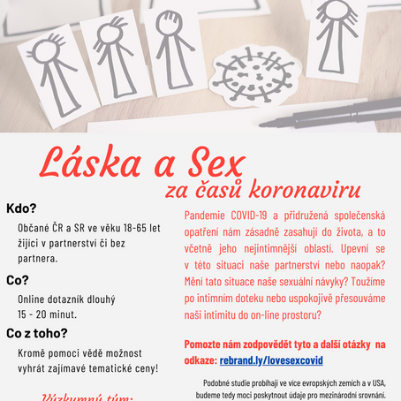 Láska a sex za časů koronaviru