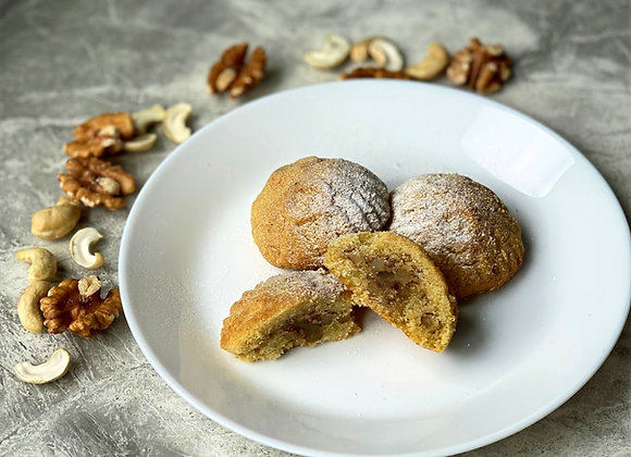 Nut Filled Maamoul Cookies - Subscription