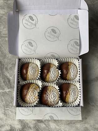 Chocolate Dipped Maamoul Cookies - Subscription