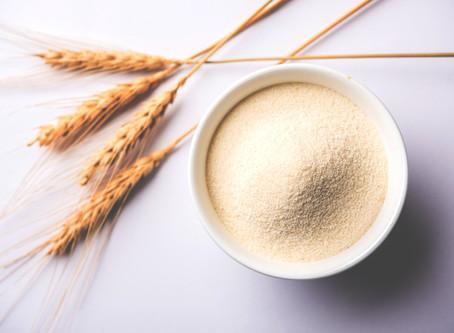 Ingredients up close…Semolina