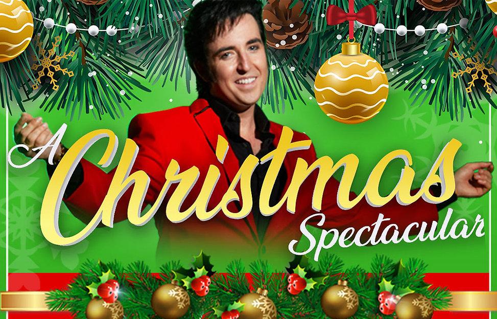 A Christmas Spectacular Banner
