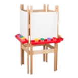 Four-Sided Easel