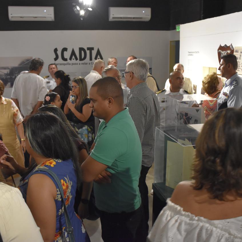 Inauguración exposición Scadta