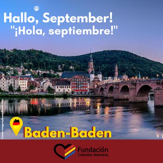 Ciudad del mes: Baden- Baden.