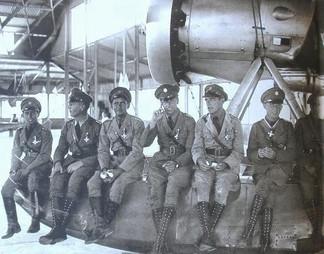 pilotos alemanes y colombianos, agosto d