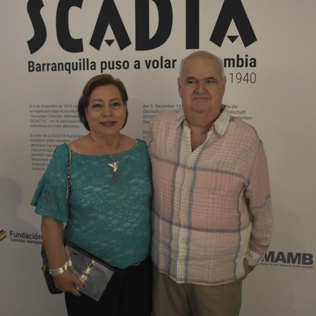 Lanzamiento del libro de Scadta