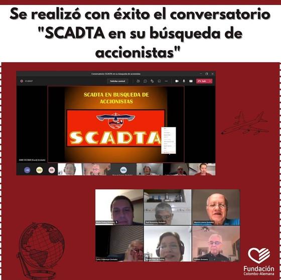 Conversatorio: SCADTA en su búsqueda de accionistas