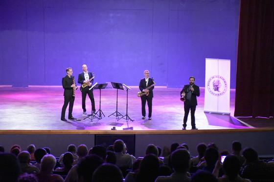 Concierto sin precedentes: el Cuarteto PRISM en Barranquilla