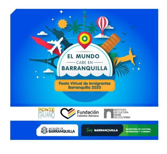 FIESTA VIRTUAL DE INMIGRANTES, BARRANQUILLA 2020