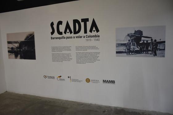 Inauguración de la exposición '100 años de Scadta'