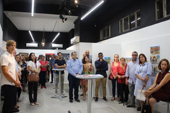El arte primitivista de Alfredo Piñeres Herrera llega a la galería Espacio D