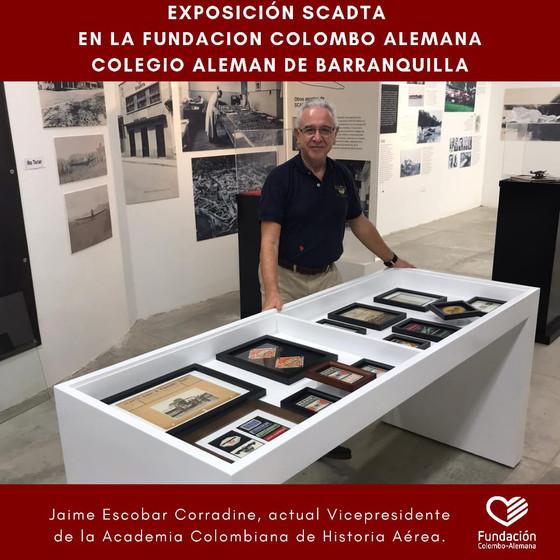 Nuevas piezas y objetos en la exposición sobre la SCADTA en la FCAB