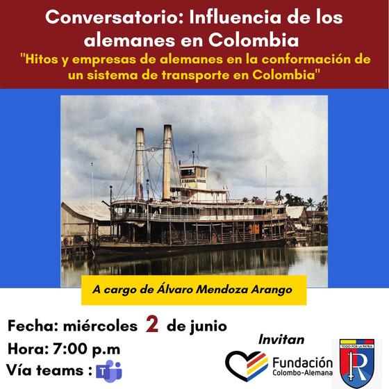 """Conversatorio: """"Influencia de los alemanes en Colombia"""""""